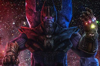 Quadro Vingadores - Thanos Universo