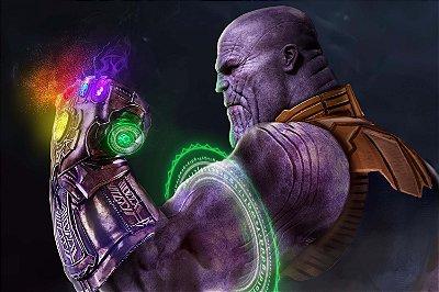 Quadro Vingadores - Thanos Manopla do Infinito