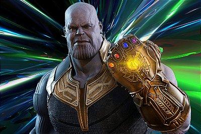 Quadro Vingadores - Thanos Manopla do Infinito 2