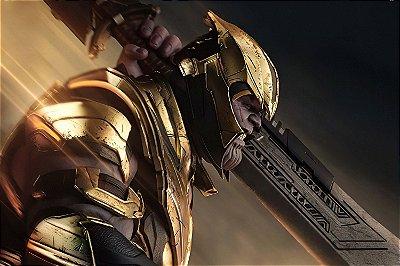 Quadro Vingadores - Thanos Armadura