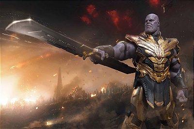 Quadro Vingadores - Thanos Armadura 2