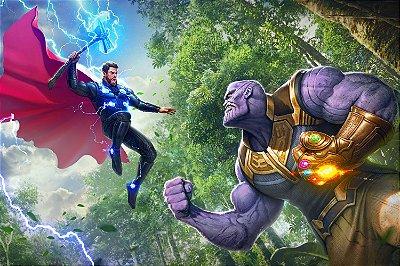 Quadro Thor - Thanos
