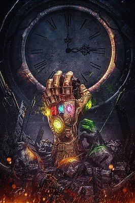 Quadro Vingadores - Manopla do Infinito