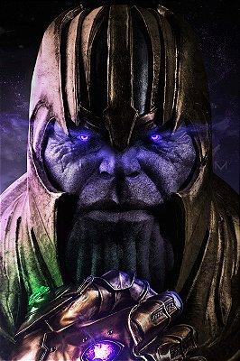 Quadro Vingadores - Thanos Titã