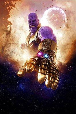 Quadro Vingadores - Thanos Titã 3