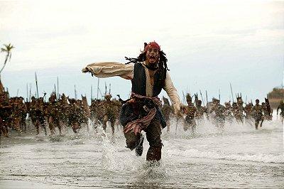 Quadro Piratas do Caribe - Jack Sparrow Tribo
