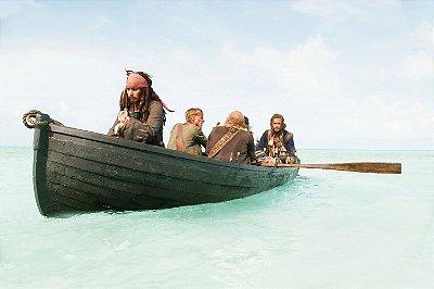 Quadro Piratas do Caribe - Jack Sparrow Ilha 3