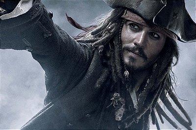 Quadro Piratas do Caribe - Jack Sparrow 2