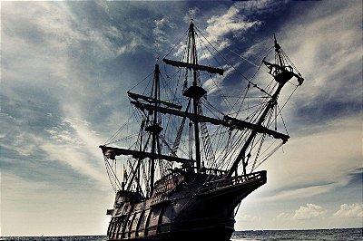 Quadro Piratas do Caribe - O Pérola Negra
