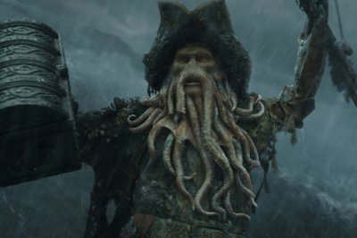 Quadro Piratas do Caribe - Davy Jones 2