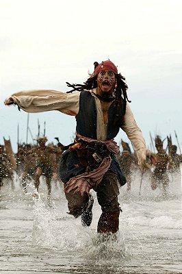 Quadro Piratas do Caribe - Jack Sparrow Tribo 2