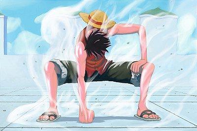 Quadro One Piece - Luffy Gear 2