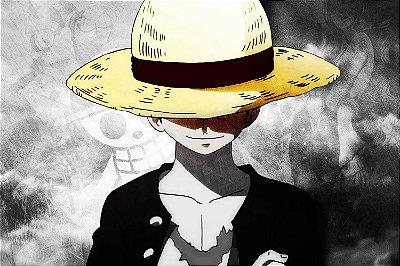 Quadro One Piece - Luffy do Chapéu de Palha