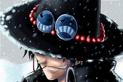 Quadro One Piece - Ace Punhos de Fogo 6