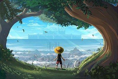 Quadro One Piece - Luffy Criança 2