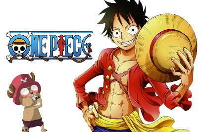 Quadro One Piece - Luffy e Chopper