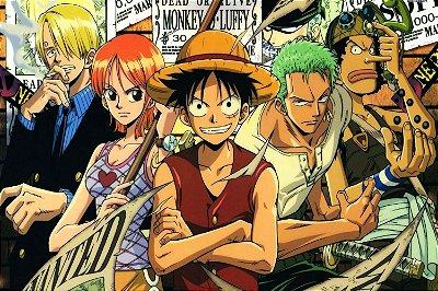 Quadro One Piece - Os Chapéus de Palha