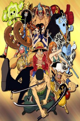Quadro One Piece - Os Chapéus de Palha 4