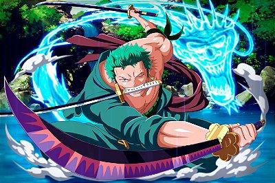 Quadro One Piece - Zoro Dragon Quake