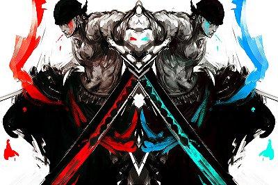 Quadro One Piece - Zoro Artístico