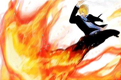 Quadro One Piece - Sanji 2