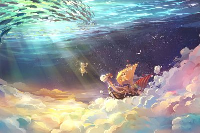 Quadro One Piece - Going Merry