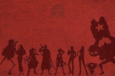 Quadro One Piece - Tripulação Minimalista 2