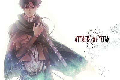 Quadro Attack on Titan - Levi Ackerman