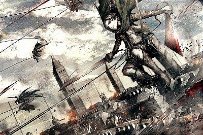 Quadro Attack on Titan - Divisão de Reconhecimento