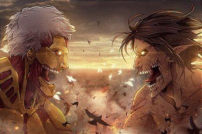 Quadro Attack on Titan - Titãs