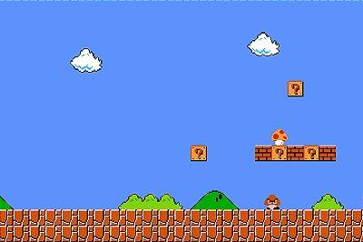 Quadro Gamer Mario - Cenário 2