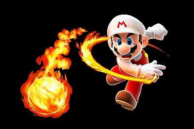 Quadro Gamer Mario - Fire Mario