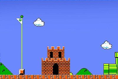 Quadro Gamer Mario - Cenário 3
