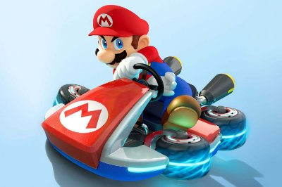 Quadro Gamer Mario - Mario Kart