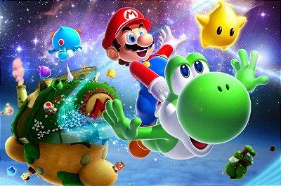 Quadro Gamer Mario - Personagens 4