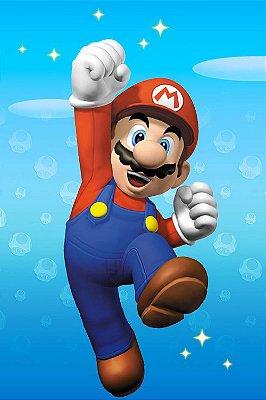 Quadro Gamer Mario - Super Mario Bros 2