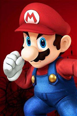 Quadro Gamer Mario - Super Mario Bros 3