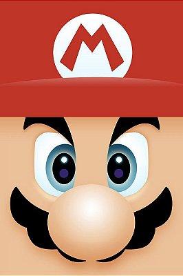 Quadro Gamer Mario - Minimalista