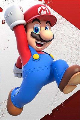 Quadro Gamer Mario - Super Mario Bros 4