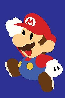 Quadro Gamer Mario - Minimalista 2