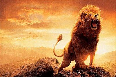 Quadro Leão de Judá - Rugido
