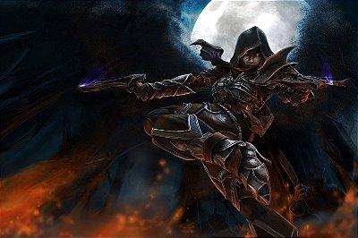 Quadro Gamer Diablo - Caçadora de Demônios 2