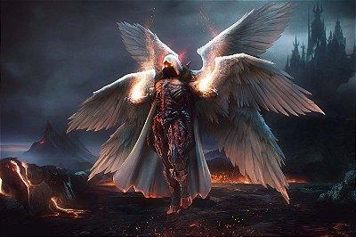 Quadro Gamer Diablo - Anjo 2