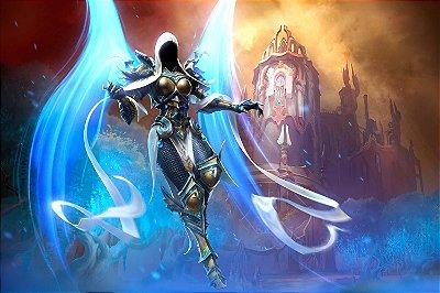 Quadro Gamer Diablo - Auriel