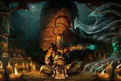 Quadro Gamer Diablo - Monge 2