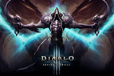 Quadro Gamer Diablo - Reaper of Souls