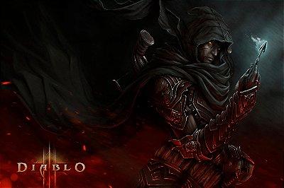 Quadro Gamer Diablo - Caçadora de Demônios 4