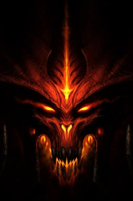 Quadro Gamer Diablo - Pôster