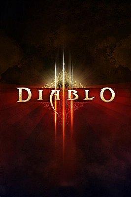 Quadro Gamer Diablo - Pôster 2