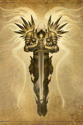 Quadro Gamer Diablo - Arcanjo